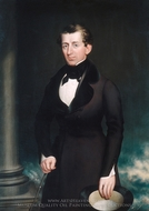 James Merrill Cook painting reproduction, Nelson Cook