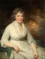 Janet Law painting reproduction, Sir Henry Raeburn