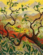 Japanese Style Landscape by Paul Ranson