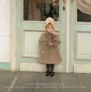 Jeanne Kefer painting reproduction, Fernand Khnopff