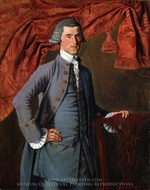 Jeremiah Platt painting reproduction, John Mare