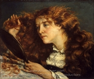 Jo, La Belle Irlandaise painting reproduction, Gustave Courbet