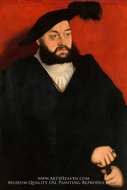 Johann, Duke of Saxony by Lucas Cranach
