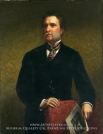John Taylor Johnston by Daniel Huntington