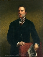 John Taylor Johnston painting reproduction, Daniel Huntington