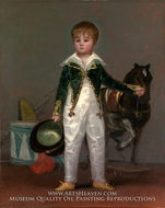 Jose Costa y Bonells, Called Pepito by Francisco De Goya