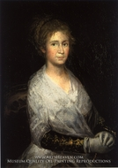 Josefa Bayeu by Francisco De Goya