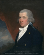 Joseph Anthony Jr. painting reproduction, Gilbert Stuart