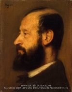 Joseph-Henri Altes by Edgar Degas