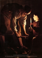 Joseph the Carpenter painting reproduction, Georges De La Tour