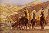 Journey of the Magi painting reproduction, James Tissot