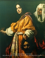 Judith with the Head of Holofernes painting reproduction, Cristofano Allori
