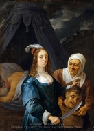 Judith with the Head of Holofernes painting reproduction, David Teniers, The Younger