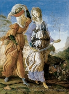 Judith with the Head of Holofernes painting reproduction, Sandro Botticelli