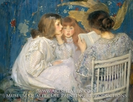 Jungle Tales (Contes de la Jungle) painting reproduction, James Jebusa Shannon