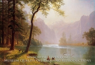 Kern River Valley, California by Albert Bierstadt