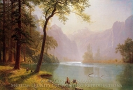 Kern River Valley, California painting reproduction, Albert Bierstadt