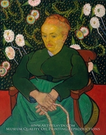 La Berceuse, Portrait of Madame Roulin by Vincent Van Gogh