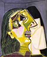 La Femme Qui Pleure by Pablo Picasso (inspired by)
