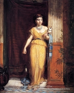 La Fileuse by John William Waterhouse