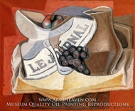 La Grappe de Raisins by Juan Gris