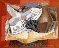 La Grappe de Raisins painting reproduction, Juan Gris