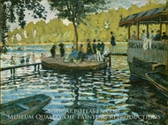 La Grenouillere painting reproduction, Claude Monet