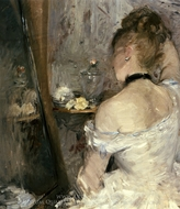 Lady at her Toilet painting reproduction, Berthe Morisot