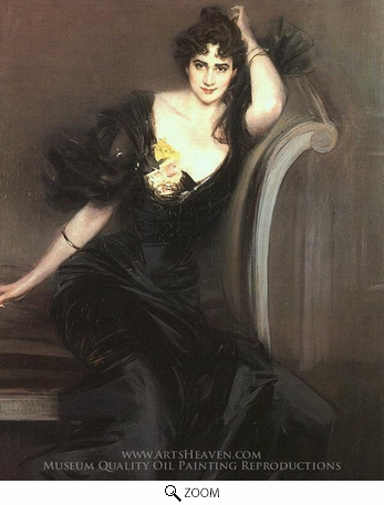 Painting Reproduction of Lady Colin Campbell, Giovanni Boldini