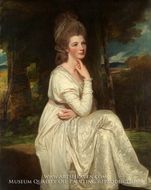 Lady Elizabeth Stanley, Countess of Derby by George Romney