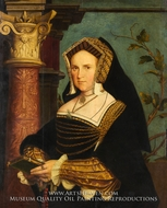 Lady Guildford (Mary Wotton, born 1500) by Hans Holbein, The Younger