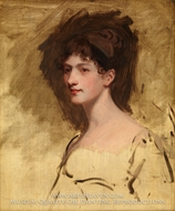Lady Hester King by John Hoppner