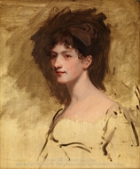Lady Hester King painting reproduction, John Hoppner