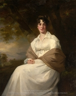Lady Maitland (Catherine Connor) painting reproduction, Sir Henry Raeburn