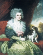 Lady with a Dog by Mather Brown