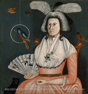 Lady with Her Pets (Molly Wales Fobes) by Rufus Hathaway