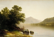 Lake George painting reproduction, John William Casilear
