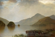 Lake George painting reproduction, John Frederick Kensett