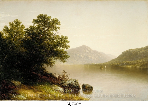 John William Casilear, Lake George oil painting reproduction
