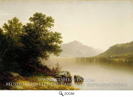 Painting Reproduction of Lake George, John William Casilear