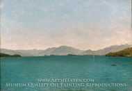 Lake George, Free Study painting reproduction, John Frederick Kensett