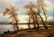 Lake Mary, California painting reproduction, Albert Bierstadt
