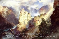 Landscape by Thomas Moran