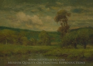 Landscape painting reproduction, George Inness