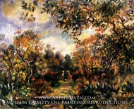 Landscape at Beaulieu by Pierre-Auguste Renoir