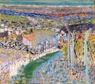 Landscape in the South (Le Cannet) by Pierre Bonnard