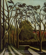 Landscape on the Banks of the Bievre at Becetre, Spring painting reproduction, Henri Rousseau