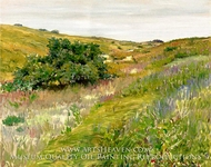 Landscape, Shinnecock Hills by William Merritt Chase