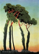 Landscape with Trees by Felix Vallotton