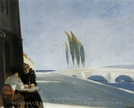 Le Bisto (The Wine Shop) painting reproduction, Edward Hopper